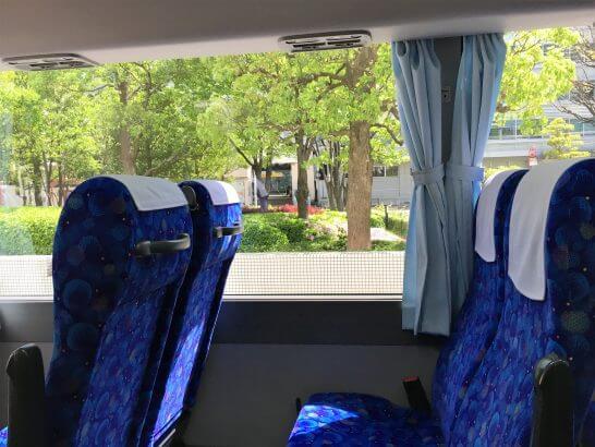 ウェスティンホテル大阪のシャトルバス(大阪行き)