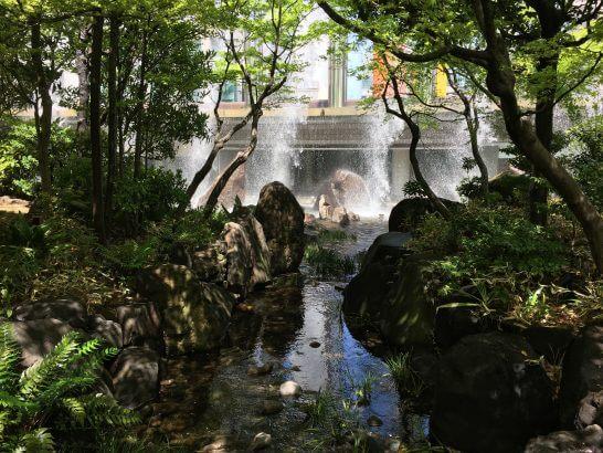 ウェスティンホテル大阪の日本庭園 (4)