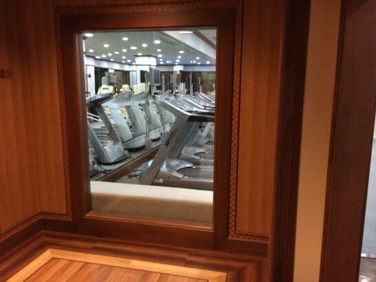 リーガロイヤルホテル東京のヘルスクラブのマシン