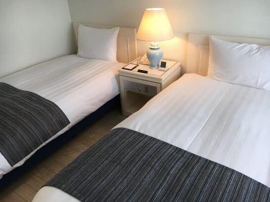 葉山ホテル音羽ノ森のベッド
