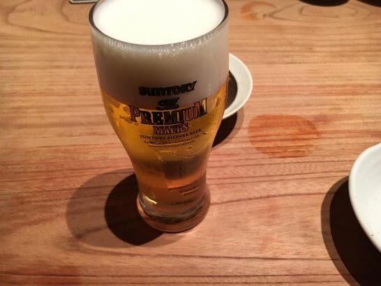 新橋魚金(プレミアム・モルツ)