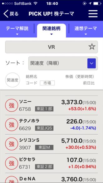 PICK UP! 株テーマ