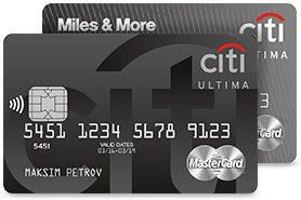 Citi Ultima MasterCard
