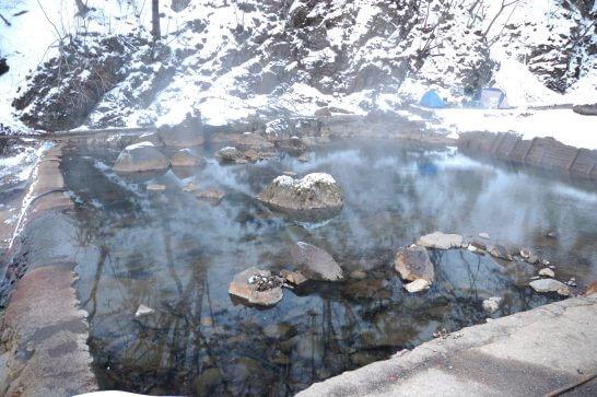 群馬県中之条町の温泉