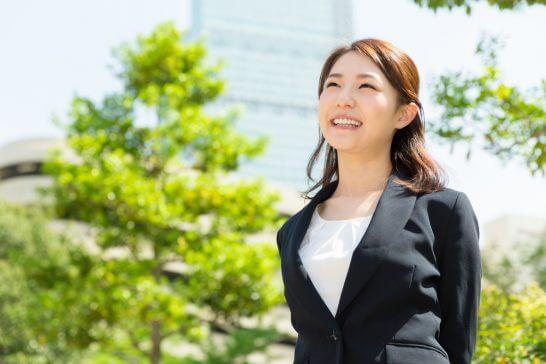 笑顔のOL (2)