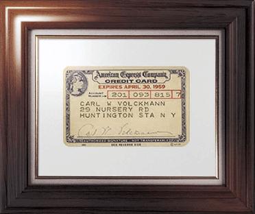 アメックスが最初に作成したクレジットカード
