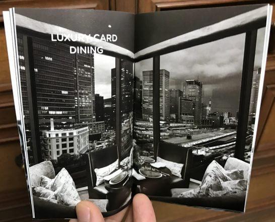 LUXURY CARD DINING