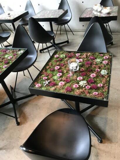 ニコライ・バーグマン・フラワーズ&デザインのカフェ