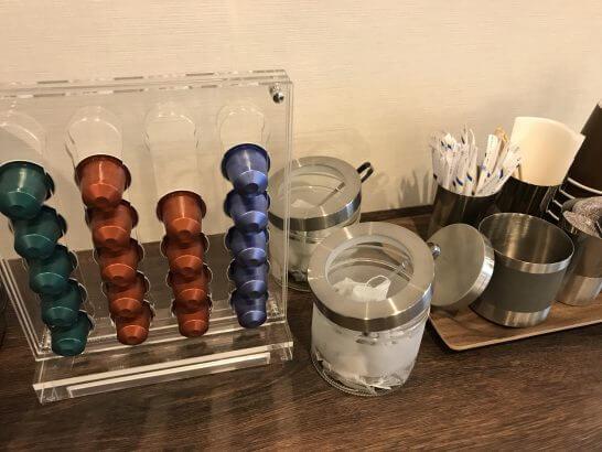 ミーティングスクエアのコーヒー・緑茶・紅茶