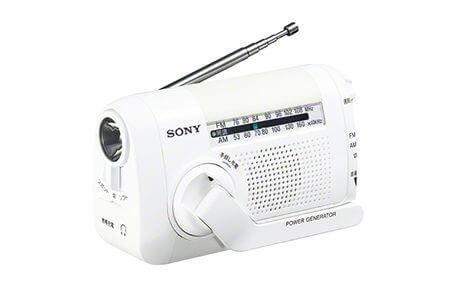 ソニーFM/AMポータブルラジオ