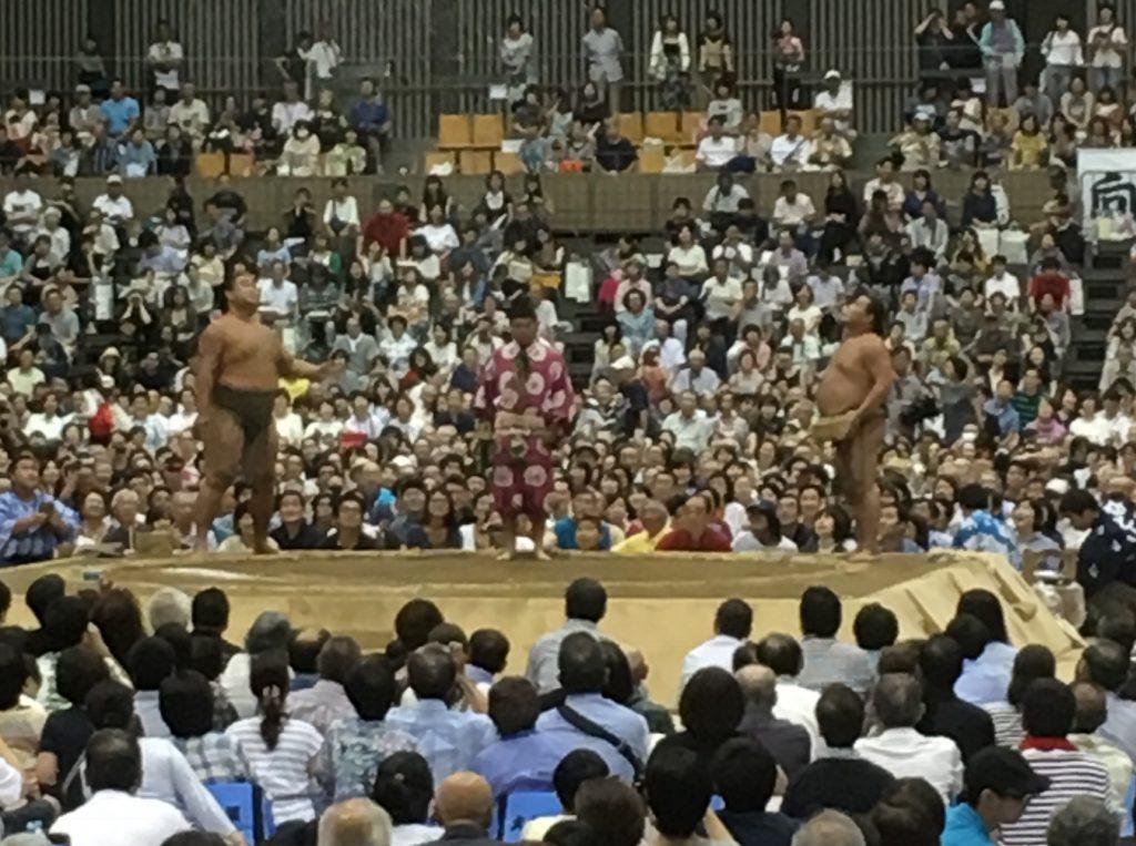 所沢出身力士同士の決勝戦