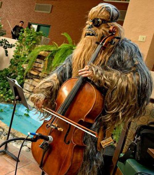 Wookiee cellist
