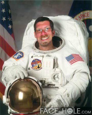 Astronaut Matt Todd