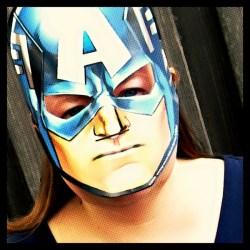 Christy as Captain America #AvengersUnite