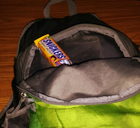 SNICKERS® in my backpack #WhenImHungry #ad