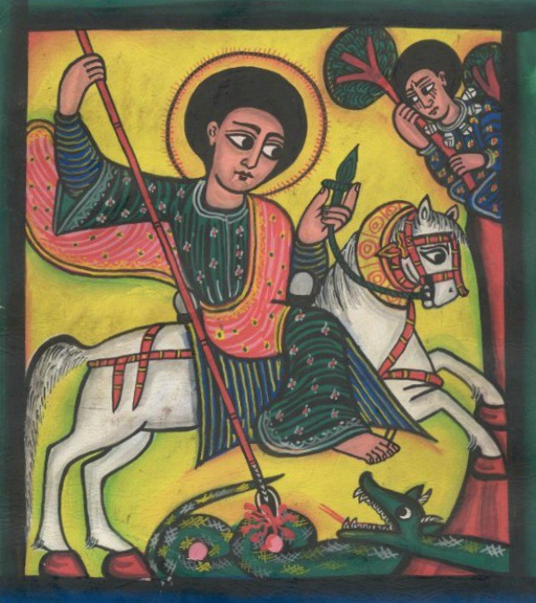 Ethiopian Icon of St George