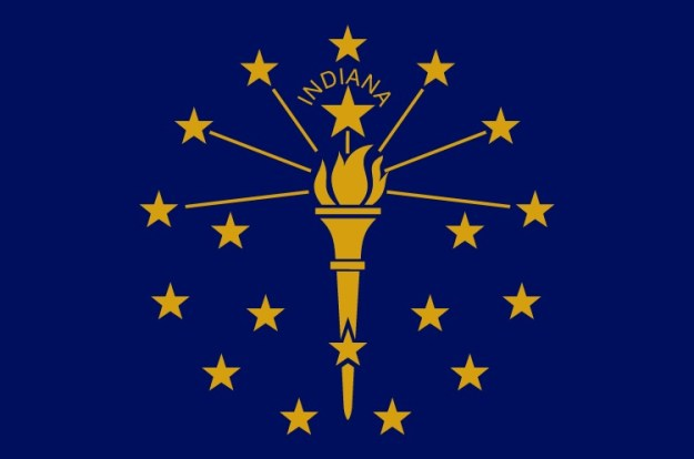 State Flag of Indiana