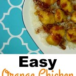 Easy Orange Chicken and Rice