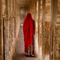 Jodhpur's fort woman