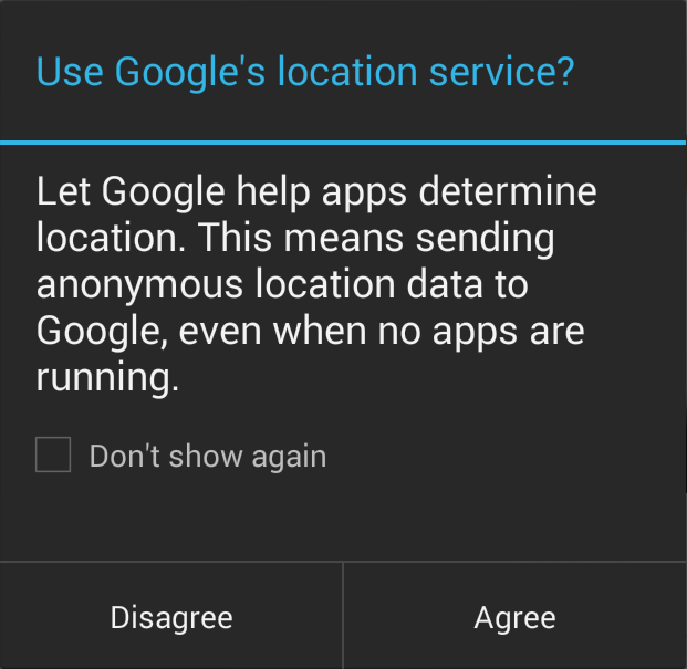 Android Finally Gives an Option to Get Rid of the Pesky Second Location Consent Screen