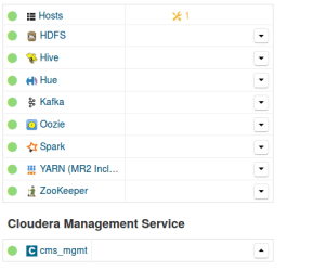 Cluster of 4 Docker containers on an openstack image with 24G ram