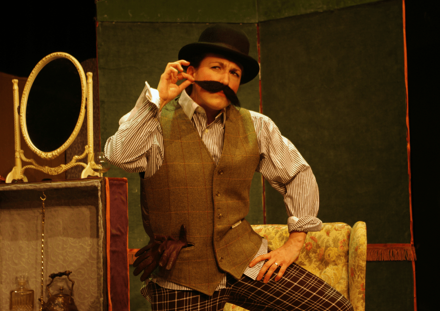 A scene from Four Farces. Photo: European Arts Company