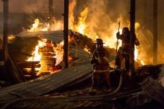 Lafferty Lumber Fire