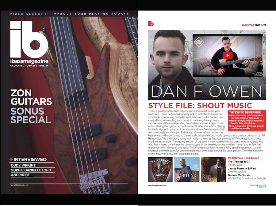 iBass Magazine Dan Francis Owen