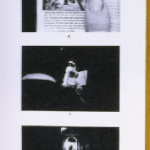 Duane Michals' Things Are Queer (1973) mounted on foamcore for 99 Ways exhibit