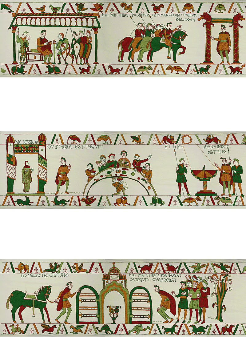 A Newly Discovered Fragment of the Bayeux Tapestry