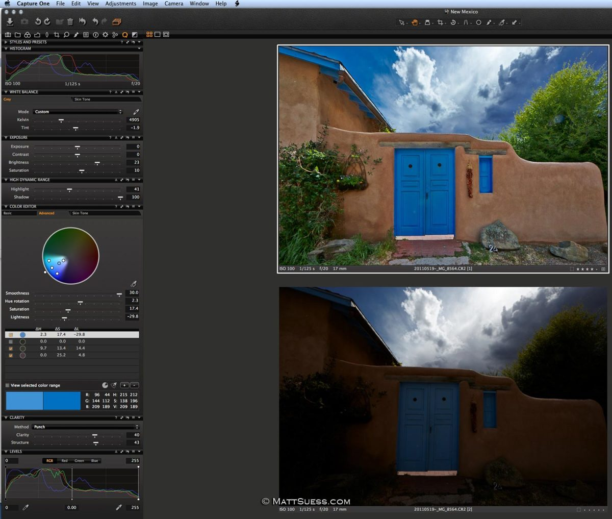 How to get natural looking HDR photos from a single image with Capture One Pro 7 from Phase One