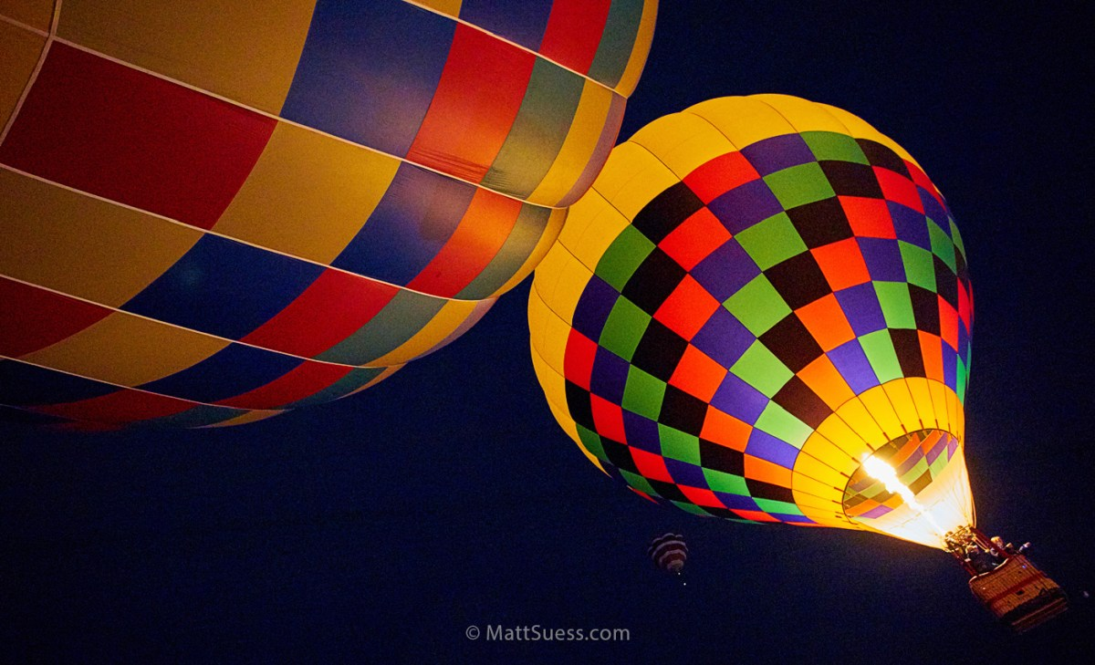 Balloon Fiesta 2014: A Photo Essay and Time Lapse