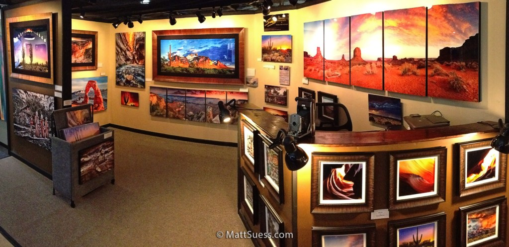 My studio here at the 2015 Celebration of Fine Art in Scottsdale.