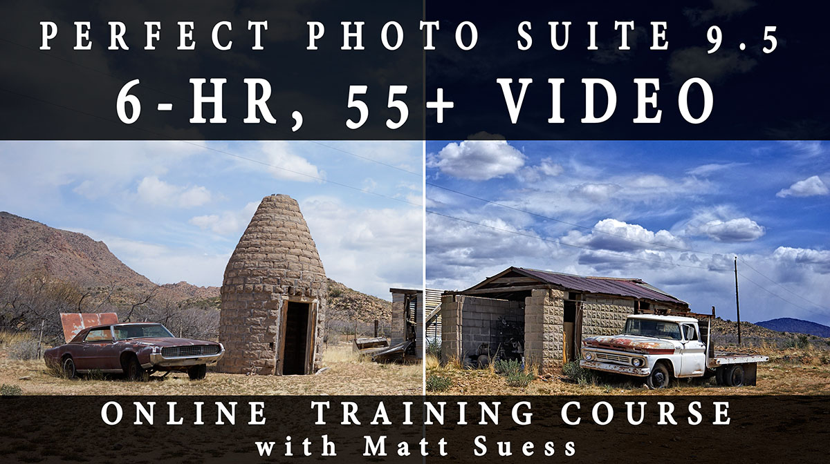 Successful Launch of My New 6-hr, 55+ Video Perfect Photo Suite Online Training Video