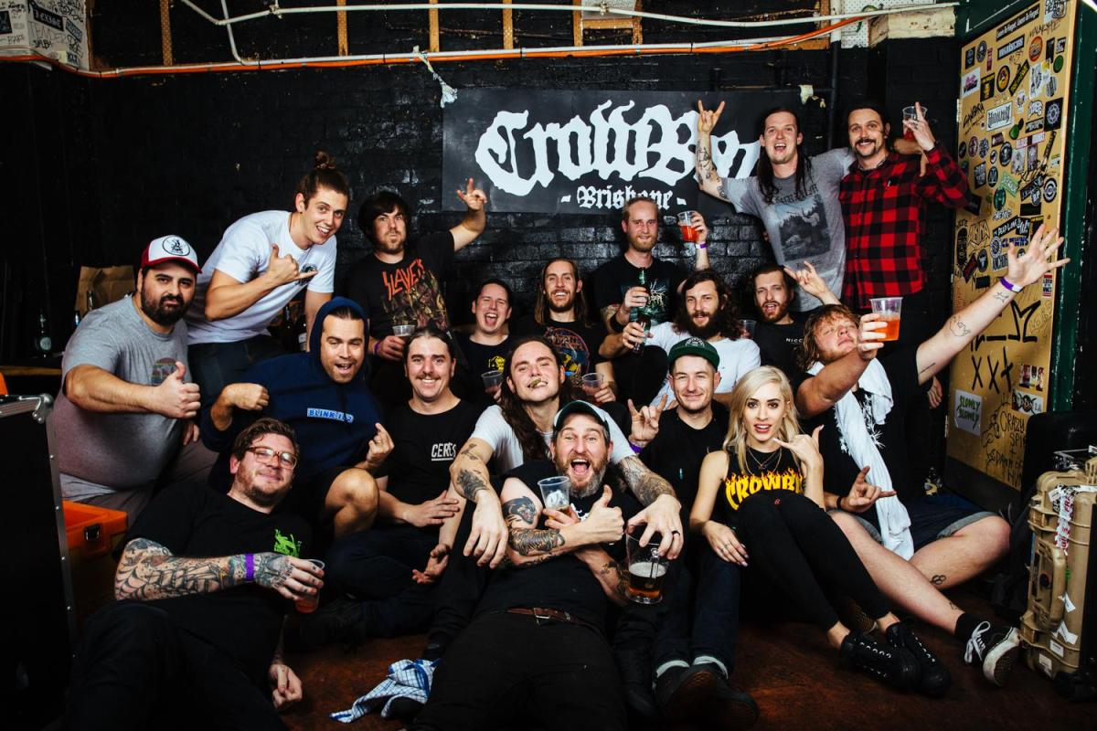 The Smith Street Band and Violent Soho at Gig Of The Century by Matt Warrell
