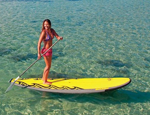 Maui stand up paddle board lessons with Surf Club Maui