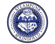 Steampunk Springfield city seal