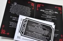 Invitation interior and RSVP