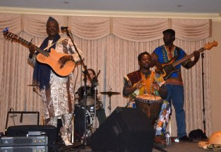 Cheick Hamala Diabaté at Music for Mali, Chelmsford, MA