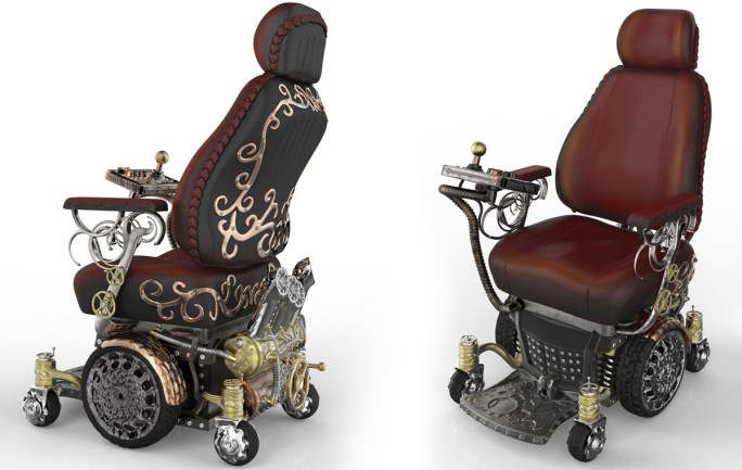 The SteamAble Wheelchair Project: Great Design That Can Change a Life