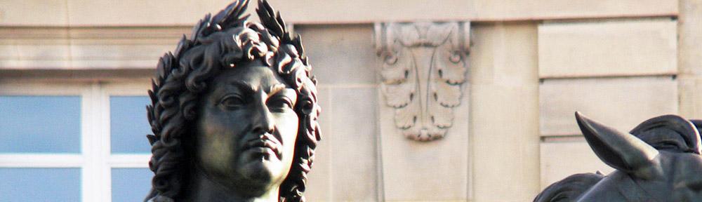 Louis XIV, Place des Victoires, Paris