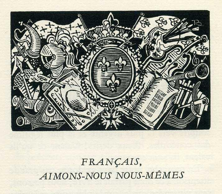 Français, aimons-nous nous-mêmes