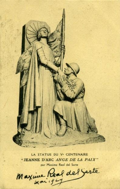 Jeanne d'Arc ange de la Paix