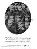 Au collège d'Aix.