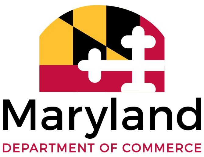 Maryland Department of Commerce logo.
