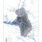 Land Below Sea Level, from the Delta Atlas, 1995