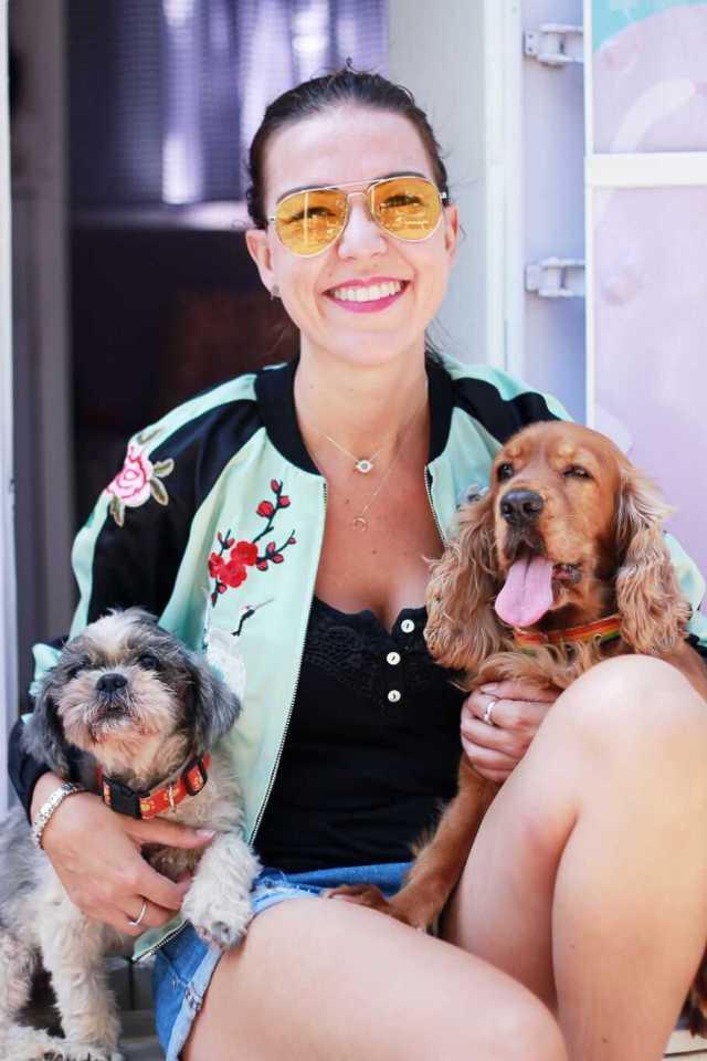 blogger con mascotas