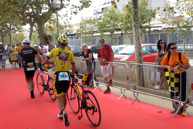Transit №2. Bike-Run. Ironman Barcelona 2016. Maxim Buvalin