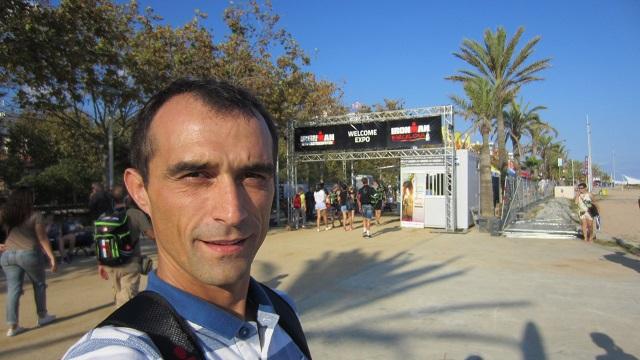 Экспо на Ironman Barcelona 2016.