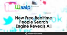 New Free Realtime People Search Engine Reveals All